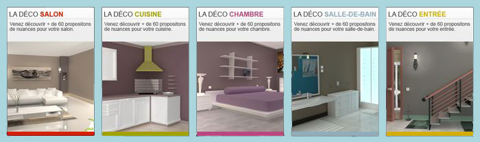 le nuancier peinture interactif est en ligne peintures onip. Black Bedroom Furniture Sets. Home Design Ideas