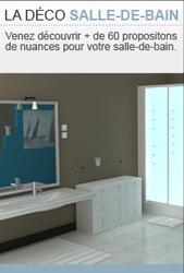 Découvrez notre nuancier interactif dédié à la peinture Salle de bain