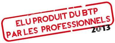Label'Onip Clean'R élu produit BTP de l'année 2013 par les professionnels